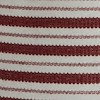 Arlo Striped Tunic Rich Red