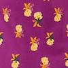 Tallahassee Patterned Jersey Dress Purple Wine