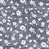 Keel Floral Print Short Sleeve Shirt Denim