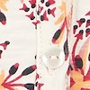 Ginny Organic Cotton Printed Jersey Shirt Light Cream