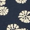Paisley Organic Cotton Printed Jersey Dress Navy