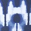 Saunton Printed Tankini Blue Indigo