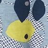 Mirren Organic Cotton Printed Maxi Dress Pale Denim