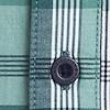 Carmine Short Sleeve Slub Check Shirt Petrol Blue