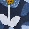 Fowey Printed Linen Midi Dress Nightshade