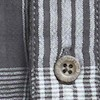 Lindale Cotton Double Faced Long Sleeve Check Shirt Cement