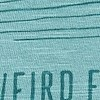 High Tide Organic Cotton Graphic High T-Shirt Washed Teal