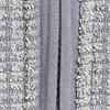 Rossten Full Zip Grid Fleece Frost Grey