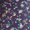 Starshine Organic Cotton Printed Jersey Dress  Grape