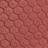 Silvermine 1/4 Zip Hex Fleece Brick Red