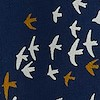 Alba EcoVero Printed Wrap Skirt Ensign Blue