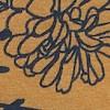 Malmo Printed Organic Jersey Skirt Mustard