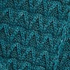 Corey Eco Textured Scarf Petrol Blue