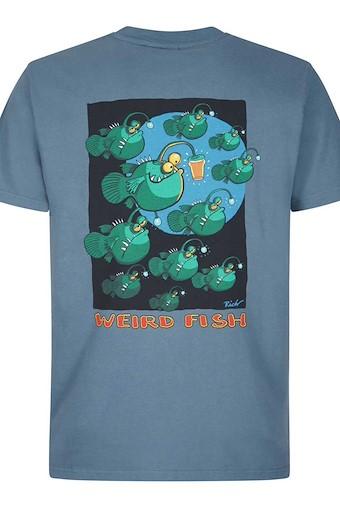 Anglers Artist T-Shirt China Blue