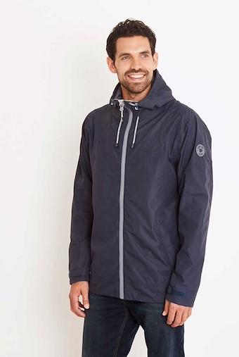 Prescott Fully Waterproof Hooded Jacket Blueberry
