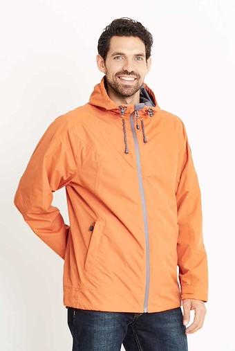 Prescott Fully Waterproof Hooded Jacket Carrot