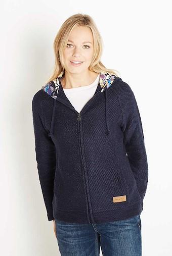 Tilly Light Macaroni Hooded Sweatshirt Midnight