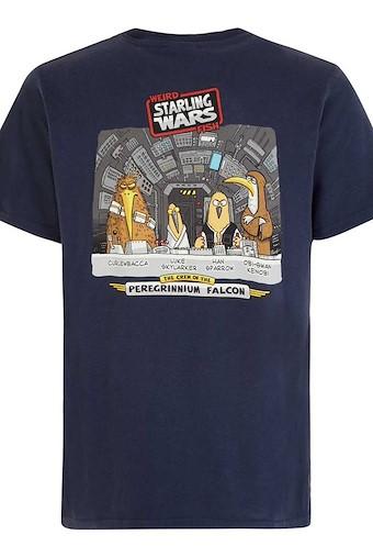 Starling Wars Artist T-Shirt Navy