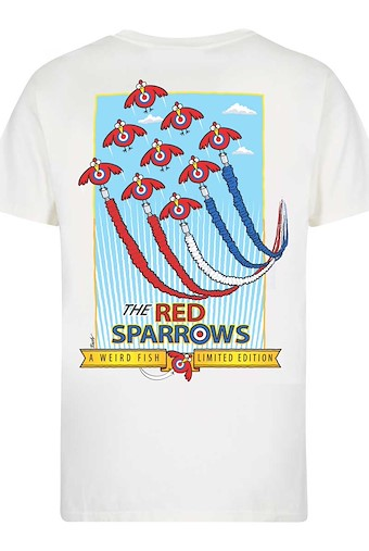 Red Sparrows Artist T-Shirt Marshmallow