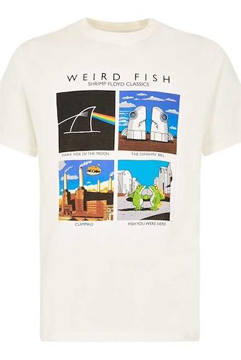 Shrimp Floyd Artist T-Shirt Marshmallow