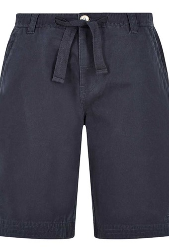 Gifford Cotton Twill Shorts Black Iris