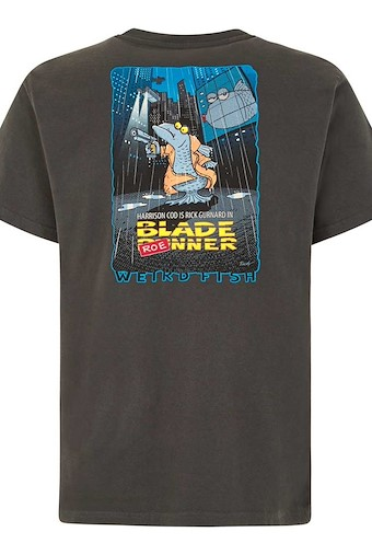 Blade Roe Artist T-Shirt Washed Black