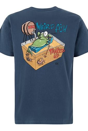 Tanked Up Artist T-Shirt Ensign Blue