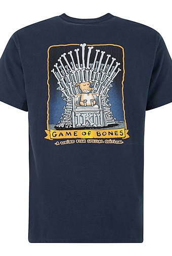 Game Of Bones Artist T-Shirt Black Iris