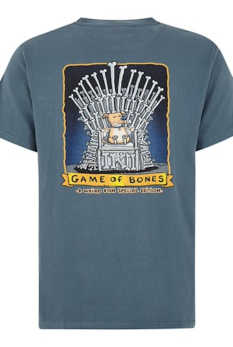 Game Of Bones Artist T-Shirt Dusty Teal