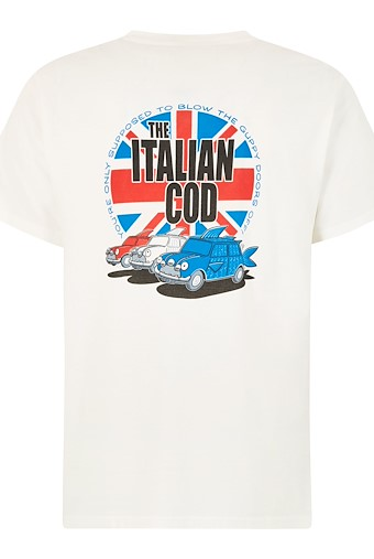 Italian Cod Artist T-Shirt Dusty White