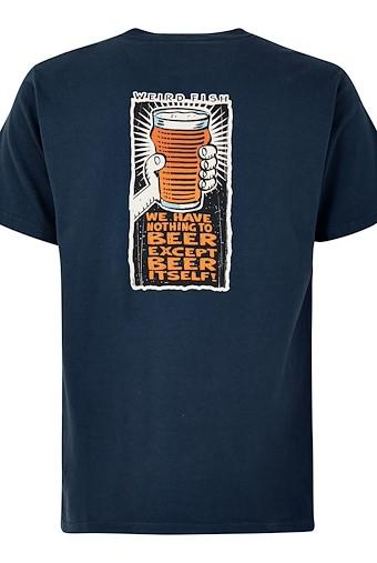 Nothing To Beer Artist T-Shirt Black Iris