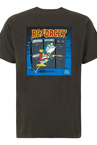 AC Dacey Artist T-Shirt Washed Black
