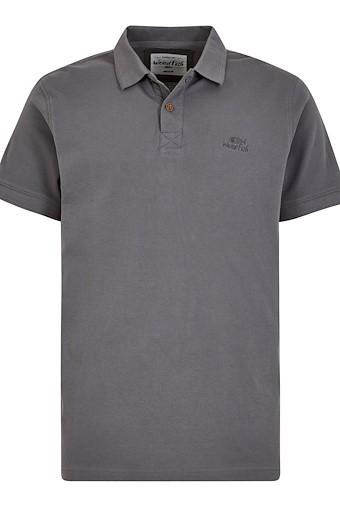 Turiff Organic Cotton Polo Grey