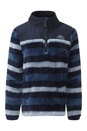 Stanley 1/4 Neck Stripe Fleece Maritime Blue