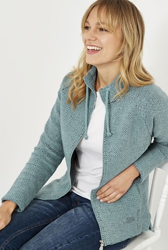 Holly Full Zip Classic Macaroni Arona