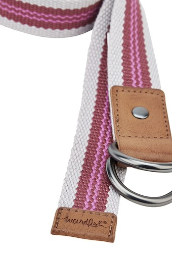Clara Webbing Belt Thistle