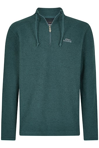Cruiser 1/4 Zip Classic Macaroni Sea Green