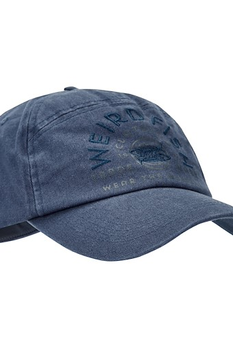 Brawn Branded Cap Dark Navy