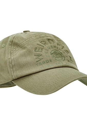 Brawn Branded Cap Burnt Olive