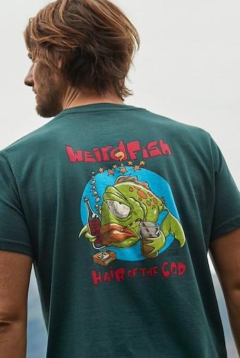 Hair Of The Cod Artist T-Shirt Evergreen