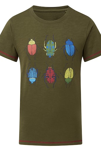Manny Graphic T-Shirt Dark Olive
