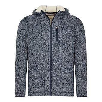 Leckie Plain Bonded Fleece Jacket Grey