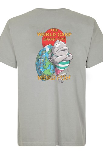 The World Carp Artist T-Shirt Gunmetal