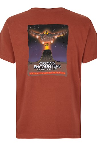 Crow Encounters Artist T-Shirt Henna