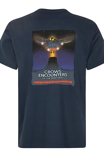 Crow Encounters Artist T-Shirt Navy