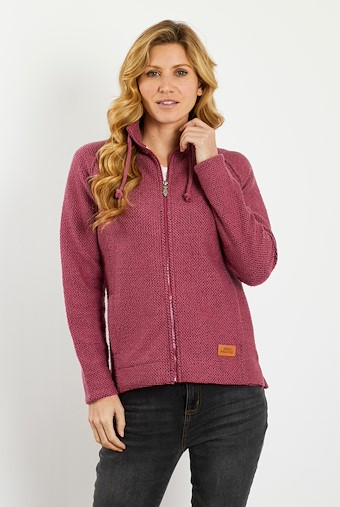 Holly Full Zip Classic Macaroni Jacket Malaga