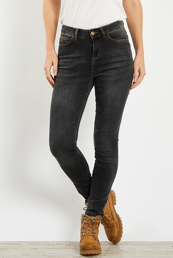 Rini Slim Fit Denim Jean Grey Wash