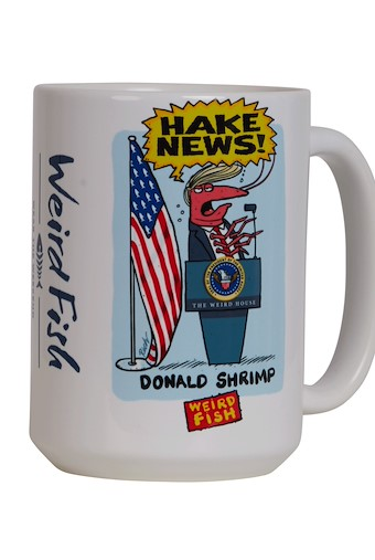 Hake News Artist Mega Mug White
