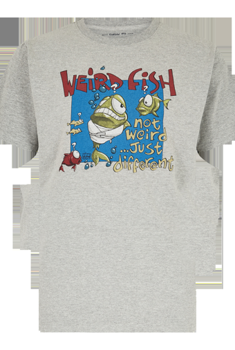 Not Weird Artist T-Shirt Grey Marl