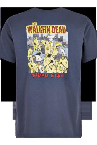 Walkfin Dead Artist T-Shirt Navy